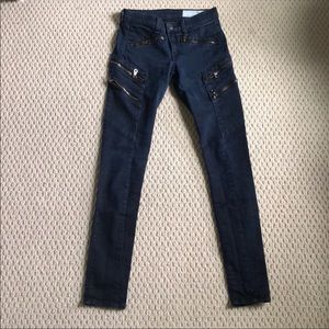 Dark Wash Rag & Bome size 24 Jeans